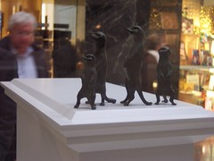 Fourth Plinth Project Nominees 2008 - Tracey Emin's Meerkats, 'Something for the Future'