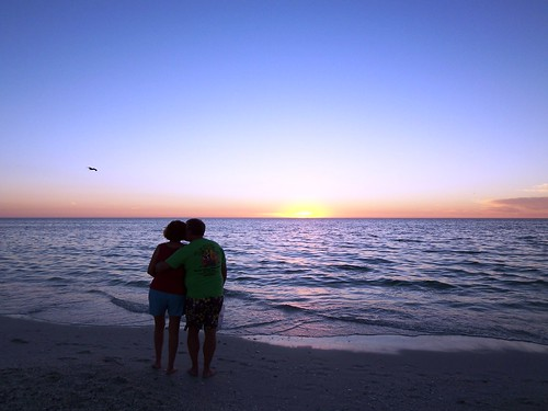 Couple on Bonita Beach