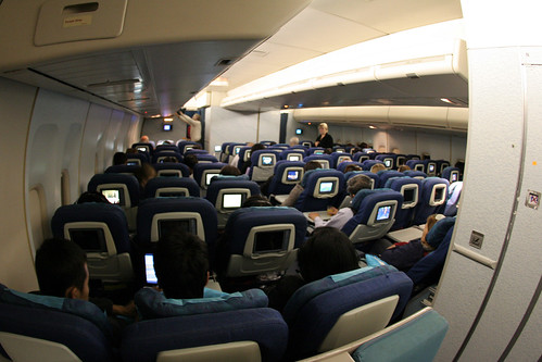 Cathay Pacific Economy Class