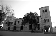 SAN MIGUEL DE CHAMARTIN (MADRID-SPAIN) (ABUELA PINOCHO ) Tags: madrid espaa byn blanco negro iglesia parroquia chamartin allyouneedislove neomudejar mywinners amazingshots a3b seeorwrite