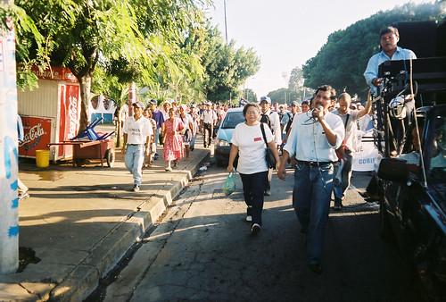 Marcha Contra la Privatización del Agua 2003