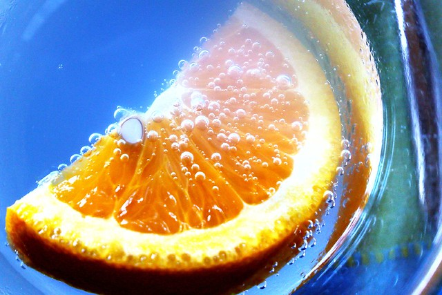 Orange & Blue with N95