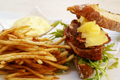 Frites (inspireer) Tags: food color dinner southafrica lunch frites sandwich fries hungry sogood
