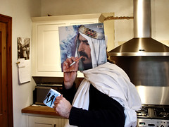 sleeveface 1 (tim caynes) Tags: selfportrait me kitchen face self relax break tea cigarette sony vinyl elvis posed smoking explore cables mug record sleeve w1 cupoftea fitting frankzappa timcaynes caynes sheikyerbouti sleeveface