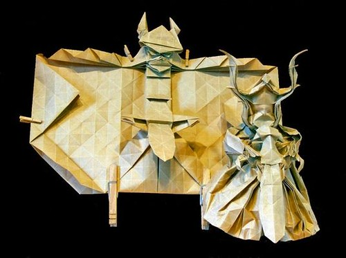 Lord Of The Rings Origami Have You Seen This