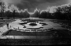 Highland Park Fountain (moedonno) Tags: bill highland rizzo