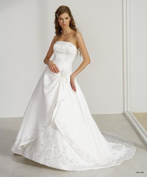 Trajes de novia baratos-F902