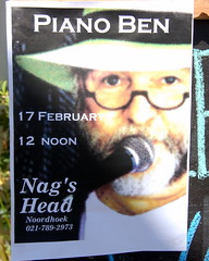 Piano Ben (RobW_) Tags: poster southafrica ben sunday piano capetown nagshead february 2008 noordhoek westerncape pheiffer feb2008 benos 17feb2008