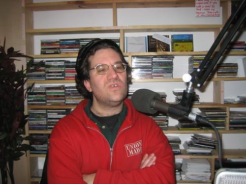 Bob in studio