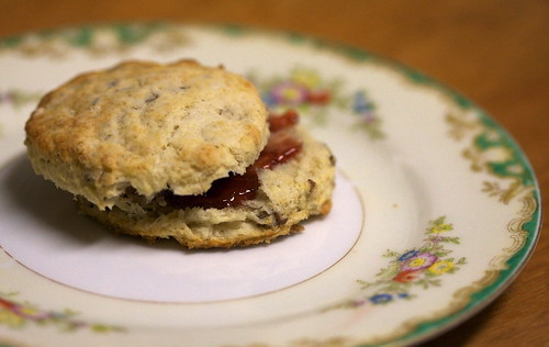 Pecan Sour Cream Biscuits