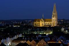 Regensburg | Nightshot (LUMPI1982) Tags: germany bavaria nightshot dom regensburg dri nightonearth