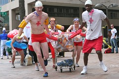(@mjb) Tags: charity race washingtondc dc downtown wdc dcist pranks idiotarod lifeguards