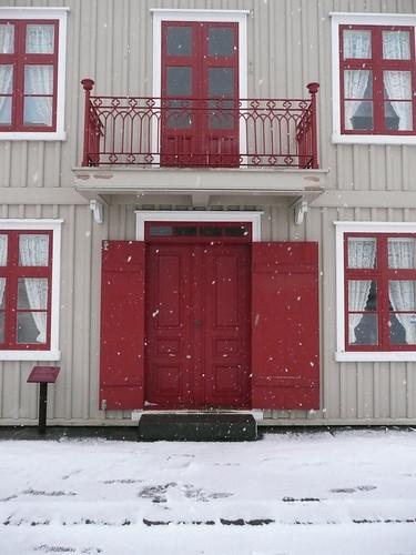 wooden house in reykjavik