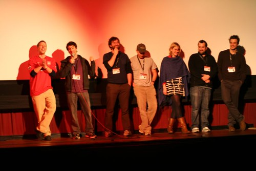 Baghead cast at SXSW screening