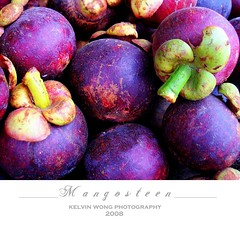 M a n g o s t e e n   (Kelvin Wong (Away)) Tags: food nature fruit purple market malaysia borneo kotakinabalu mountkinabalu sabah mangosteen kelvinwong piscesromance malaysiatrip2008