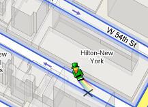 Google Street View Leprechaun