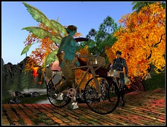 Egi and me on Bike :)) (Kracht Strom) Tags: blue sky sun art reflections photography fly 3d screenshot wings magic sl fairy fantasy secondlife mystical capture untouched fairys strom elves wl windlight straylight kracht bluelion seconlife slwindlight secondlifewindlight viritual krachtstrom viritualworld purewindlight