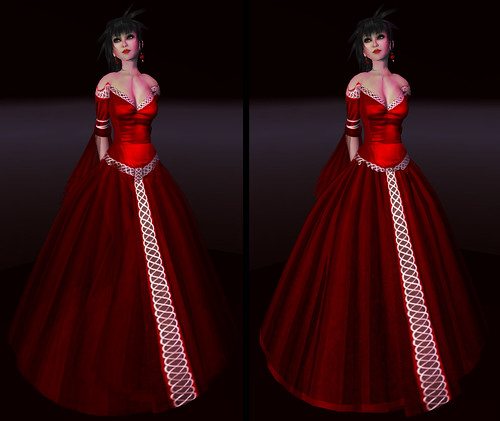 kouse's sanctum lady serenity red rose III