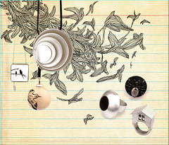 Mary Design - Pssaros do Paraso (qel - raquel schembri) Tags: china winter brazil house bird art fashion illustration ink design fly flying necklace drawing mary raquel ring catalog draw 2008 horizonte belo schembri giroletti