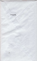fragile. (jackie young.) Tags: mail air sent today par avion