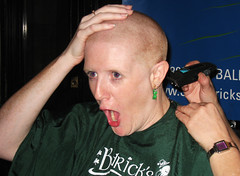 OMG WHERE IS MY HAIR!!!!???? (Tanya in BNE) Tags: charity hk woman haircut me girl self hair buzz t hongkong interestingness tanya head cut vanity bald scout moi redhead explore shave hairless 2008 0804 cancerresearch myformerlife stbaldricks april2008