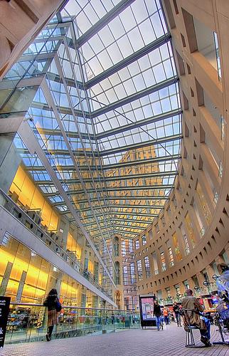 Vancouver Public Library Interior