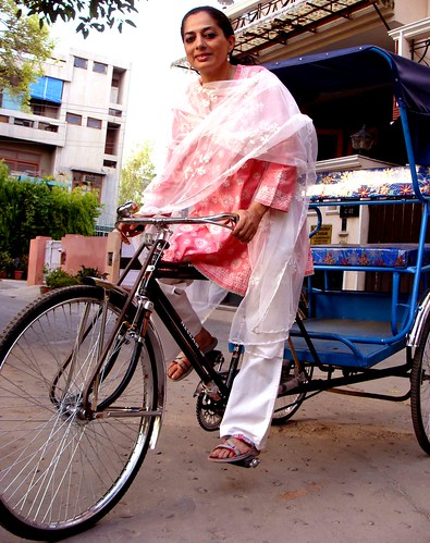 Sadia Dehlvi, the Rickshaw Walli