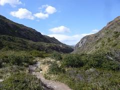 Torres del Paine - trek - chemin
