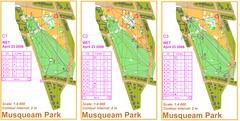 Musqeam Park Sprint - 2008-04-17