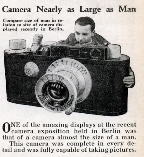 One Big Camera