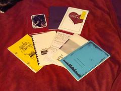 huh. I wrote some books