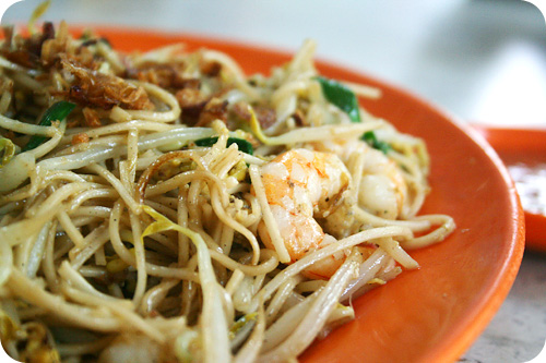 stir fried bee hoon