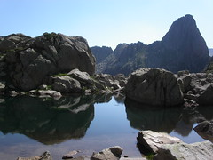 Reflets (Arige/Pyrnes) (PierreG_09) Tags: montagne lago lac dent reflet ariege pyrenees pirineos etang chvres couserans aub mde turguilla