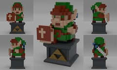 A Lego Link from the Past (Lego Ideas) (Flanagan Brothers Inc.) Tags: zelda nintendo lego set toy game video switch breath wild