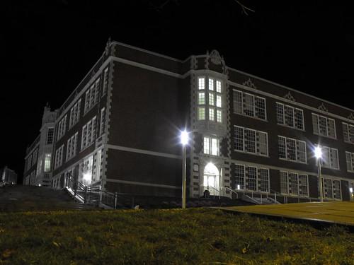 Garfield High School, the edifice that educated Jimi Hendrix and Quincy Jones