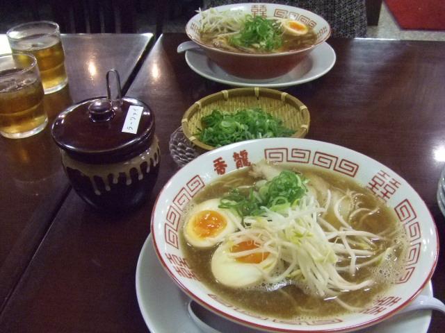 香龍 ラーメン 大竹 5