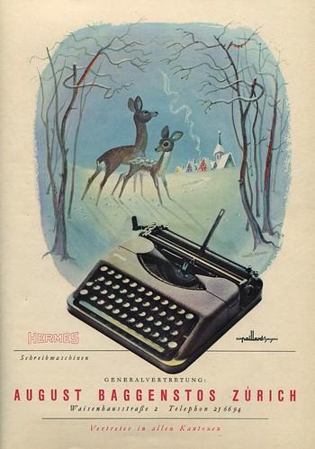 Du 1946-12 Weihnachten Hermes Baby
