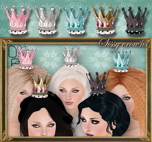 SISSY crowns