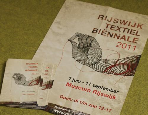 Rijswijk Textile Biennale 2011!