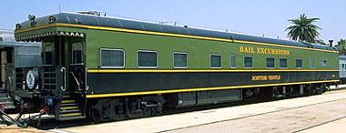 Private Rail Car - Scottish Thistle