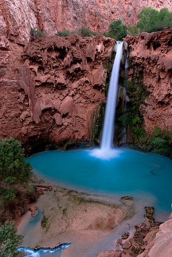 """Mooney Falls"" by puddleduckz."