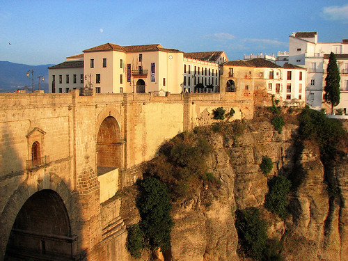 Ronda Bridge at Sunset
