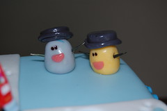 Mr. Salt and Mrs. Pepper (Mongstirs) Tags: cake bluesclue