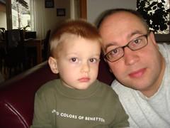 Moritz und Papa