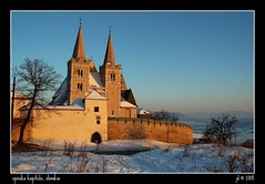 Spisk Kapitula (jandudas) Tags: winter sunset snow church europe catholic cathedral central eu unesco slovensko slovakia zips slowakei slowakije szlovkia eslovaquia slovaquie spis slovacchia sowacja c
