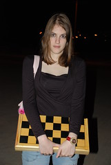 Young Chessmaster Haimova (Or Hiltch) Tags: woman love girl night israel telaviv girlfriend geek creative chess commons games babe teen moran orhiltch