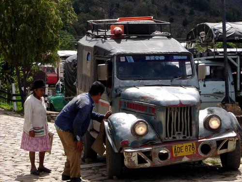 En el mercado de Villa de leyva - Boyaca - Colombia
