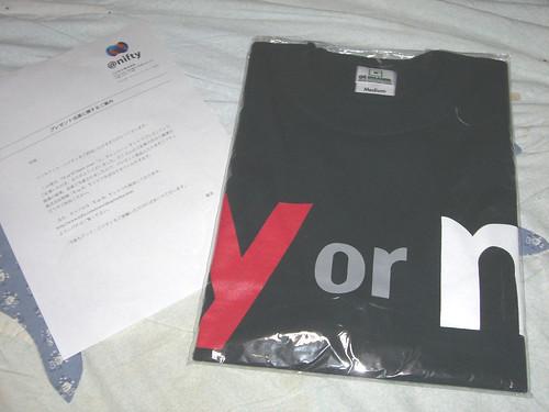 Y or N T-shirt