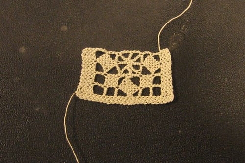Puncetto needle lace