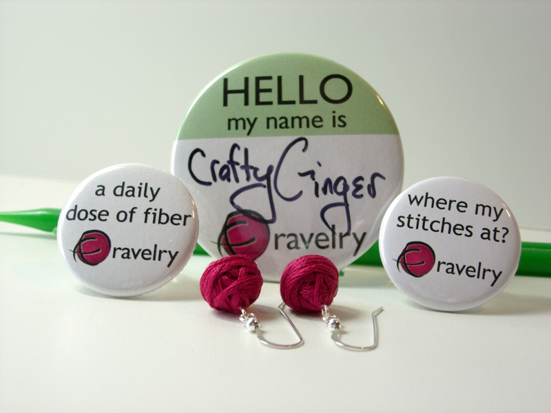 Yarn Ball Earrings - Ravelry